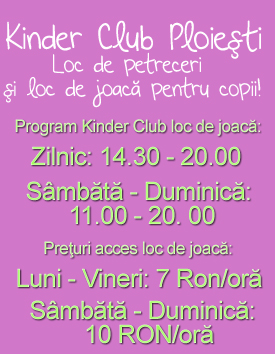 Program Kinder Club Ploiesti